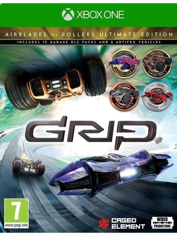Grip: Combat Racing - Rollers Vs Airblades - Ultimate Edition - Microsoft Xbox One - Rennspiel - PEG Produktbild