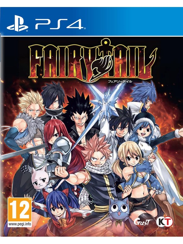 Fairy Tail - Sony PlayStation 4 - RPG - PEGI 16 Produktbild