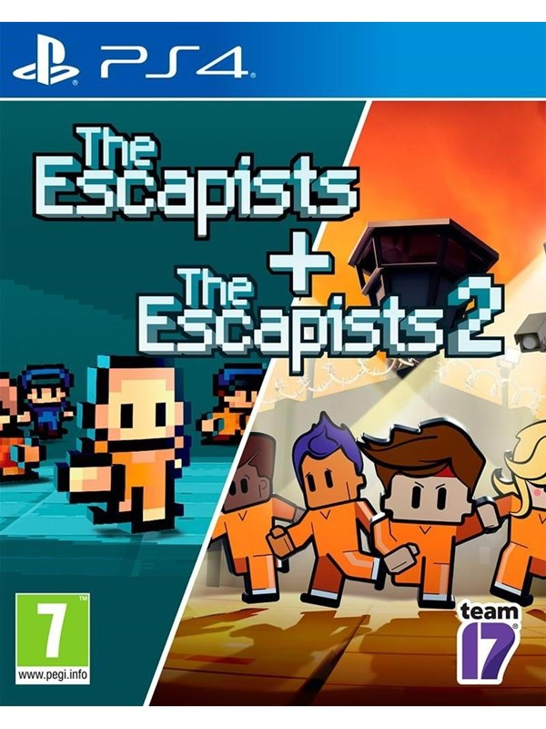 The Escapists + The Escapists 2 - Sony PlayStation 4 - Action - PEGI 7 Produktbild