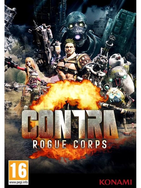 Contra Rogue Corps - Windows - Action - PEGI 16 Produktbild