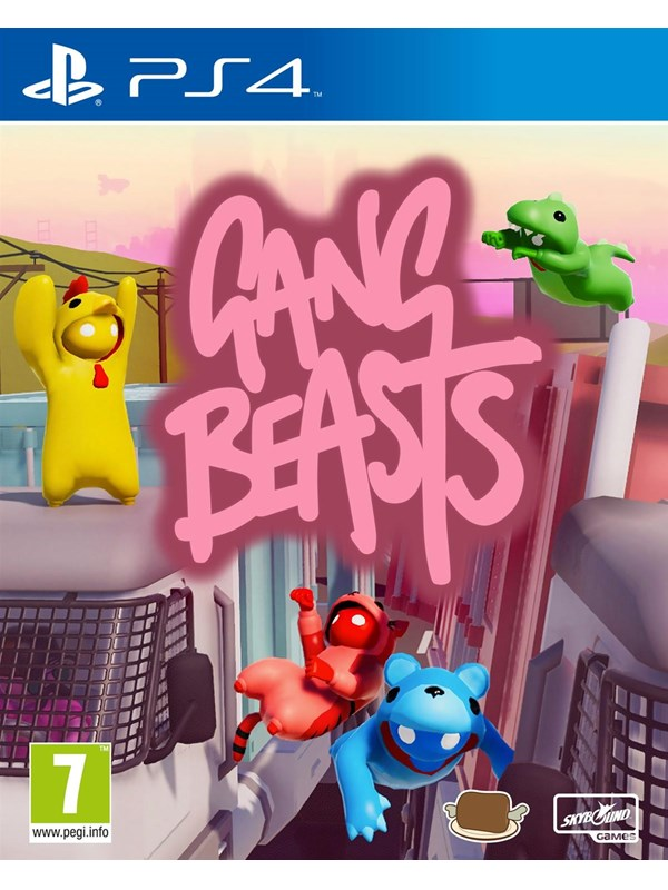 Gang Beasts - Sony PlayStation 4 - Party - PEGI 7 Produktbild