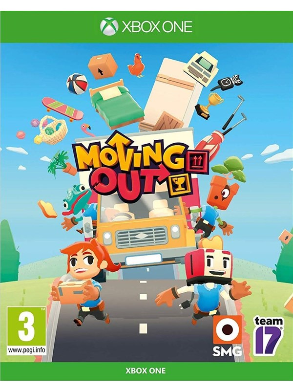 Moving Out - Microsoft Xbox One - Action - PEGI 3 Produktbild