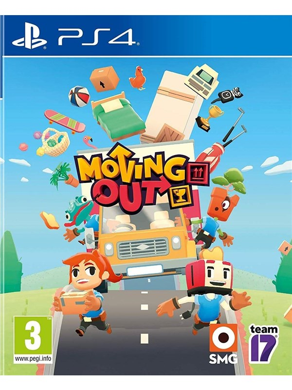Moving Out - Sony PlayStation 4 - Action - PEGI 3 Produktbild