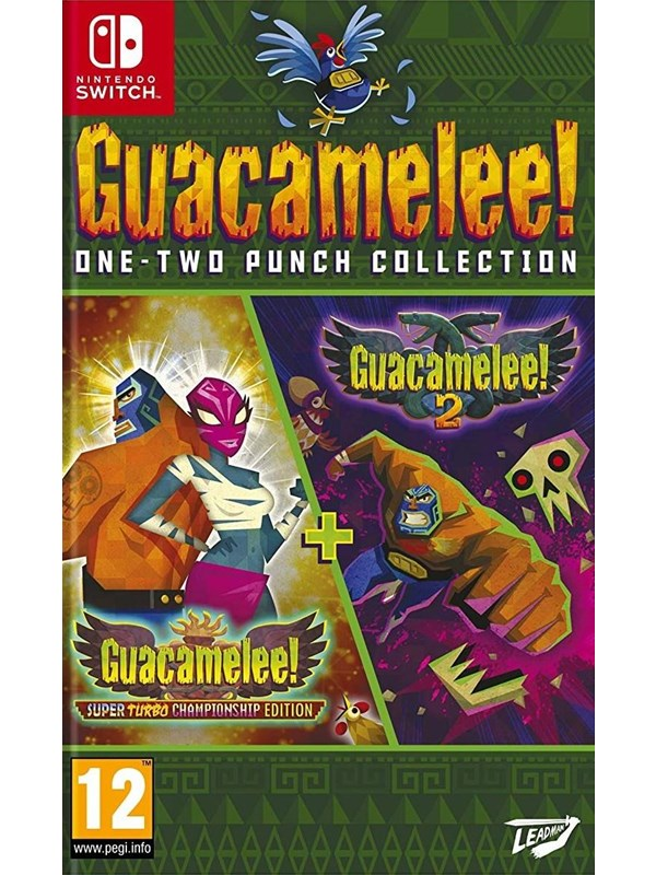 Guacamelee! One-Two Punch Collection - Nintendo Switch - Platformer - PEGI 12 Produktbild