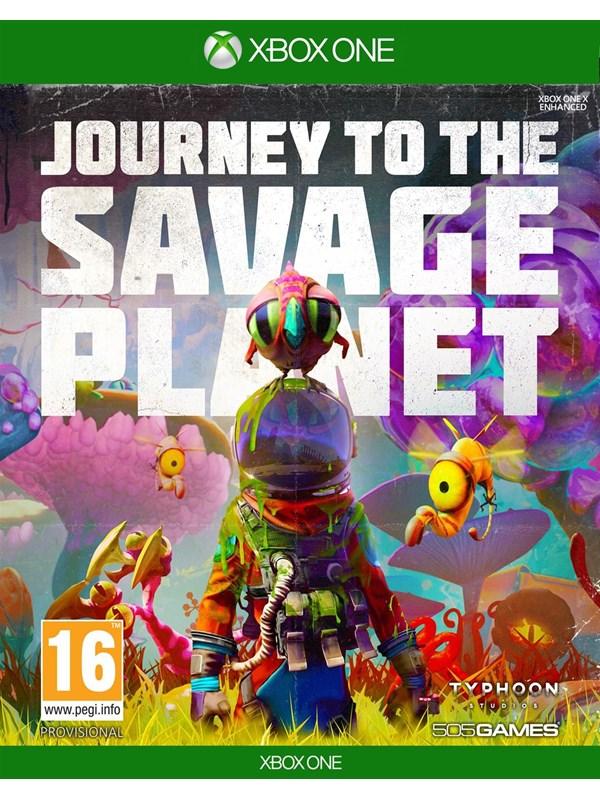 Journey to the Savage Planet - Microsoft Xbox One - Action/Abenteuer - PEGI 16 Produktbild