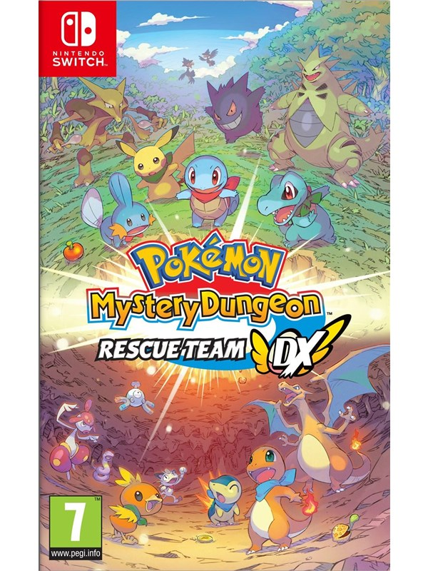 Pokémon Mystery Dungeon: Rescue Team DX - Nintendo Switch - RPG - PEGI 7 Produktbild