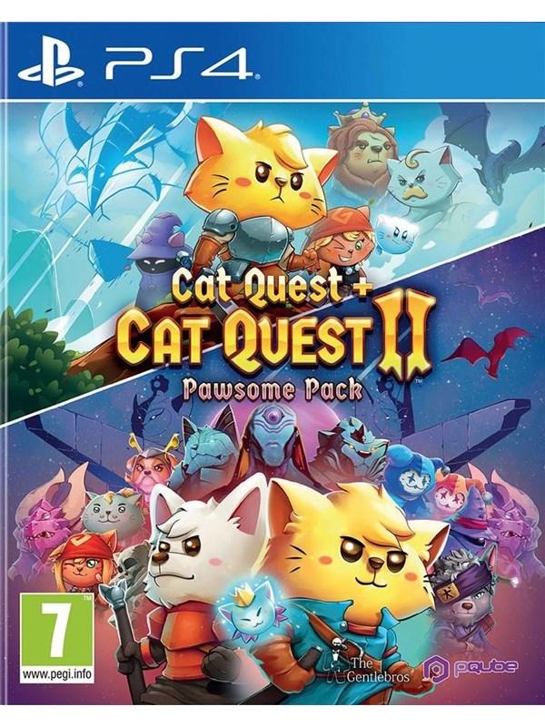 Cat Quest + Cat Quest II (Pawsome Pack) - Sony PlayStation 4 - RPG - PEGI 7 Produktbild