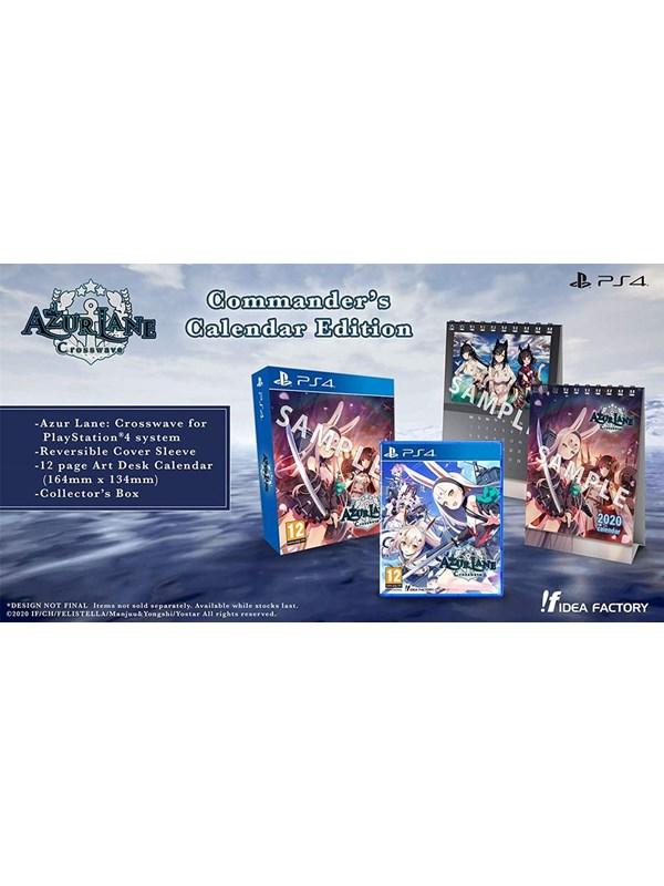 Azur Lane: Crosswave - Commander's Calendar Edition - Sony PlayStation 4 - Action - PEGI 12 Produktbild