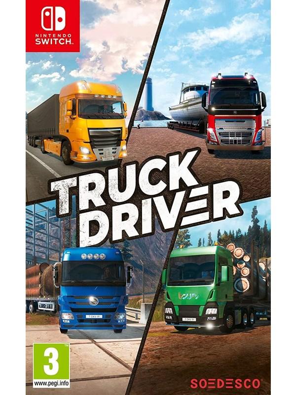 Truck Driver - Nintendo Switch - Simulator - PEGI 3 Produktbild