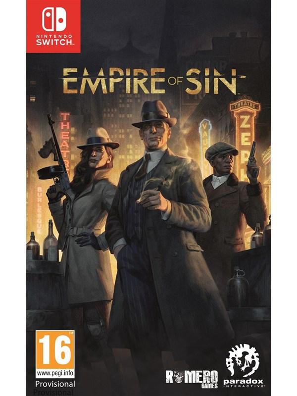 Empire of Sin - Nintendo Switch - Strategie - PEGI 16 Produktbild