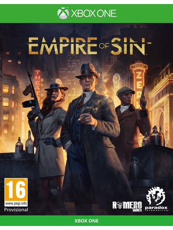 Empire of Sin - Microsoft Xbox One - Strategie - PEGI 12 Produktbild