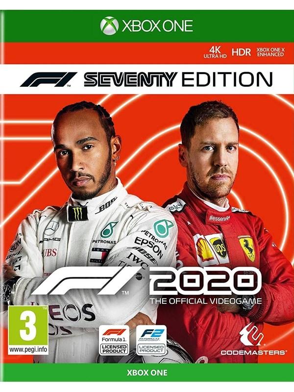 F1 2020 - Seventy Edition - Microsoft Xbox One - Rennspiel - PEGI 3 Produktbild
