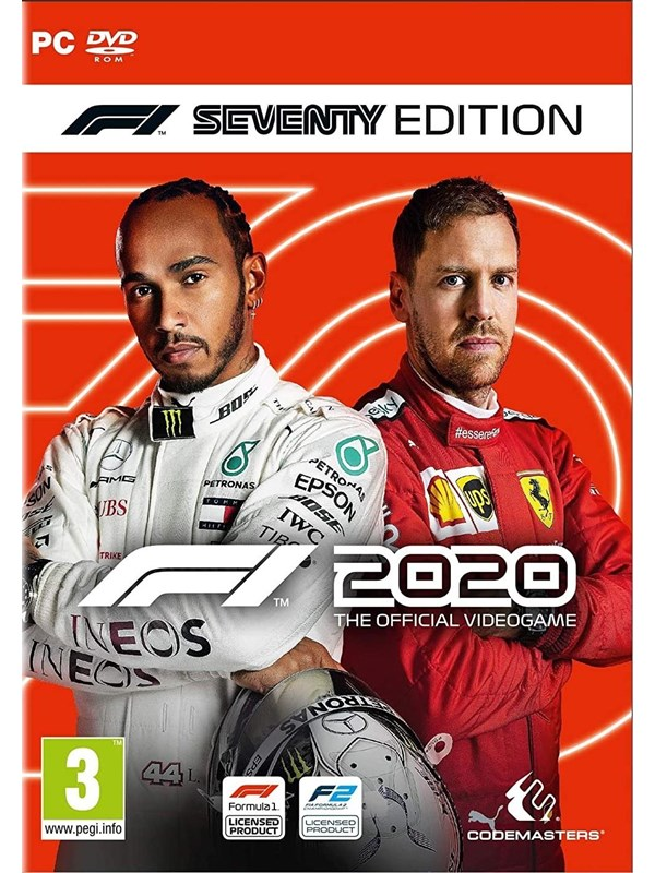 F1 2020 - Seventy Edition - Windows - Rennspiel - PEGI 3 Produktbild
