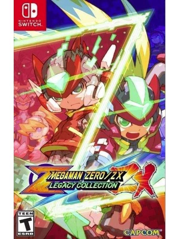 Mega Man Zero/ZX Legacy Collection - Nintendo Switch - Action - PEGI 12 Produktbild