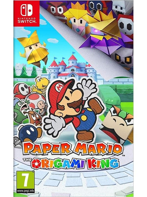 Paper Mario: The Origami King - Nintendo Switch - Action/Abenteuer - PEGI 7 Produktbild