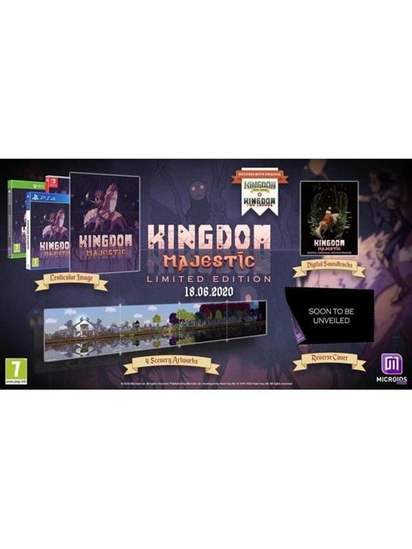 Kingdom Majestic: Limited Edition - Sony PlayStation 4 - Strategie - PEGI 7 Produktbild