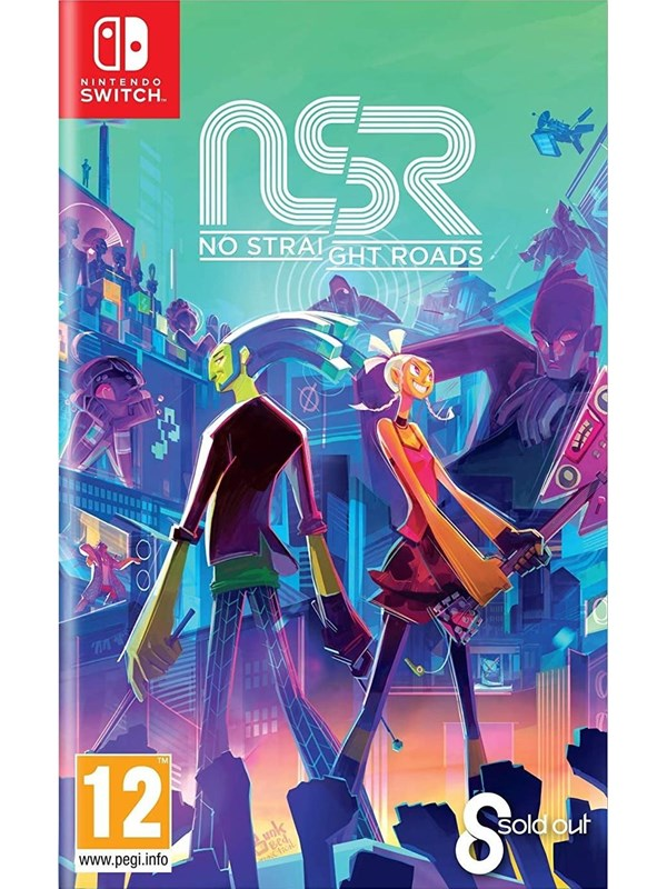 No Straight Roads - Nintendo Switch - Action/Abenteuer - PEGI 12 Produktbild