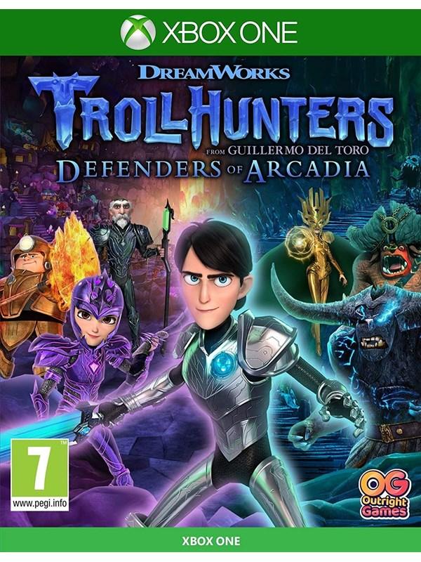 Trollhunters: Defenders of Arcadia - Microsoft Xbox One - Platformer - PEGI 7 Produktbild