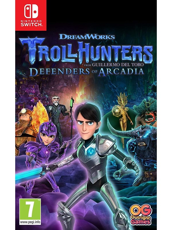 Trollhunters: Defenders of Arcadia - Nintendo Switch - Platformer - PEGI 7 Produktbild