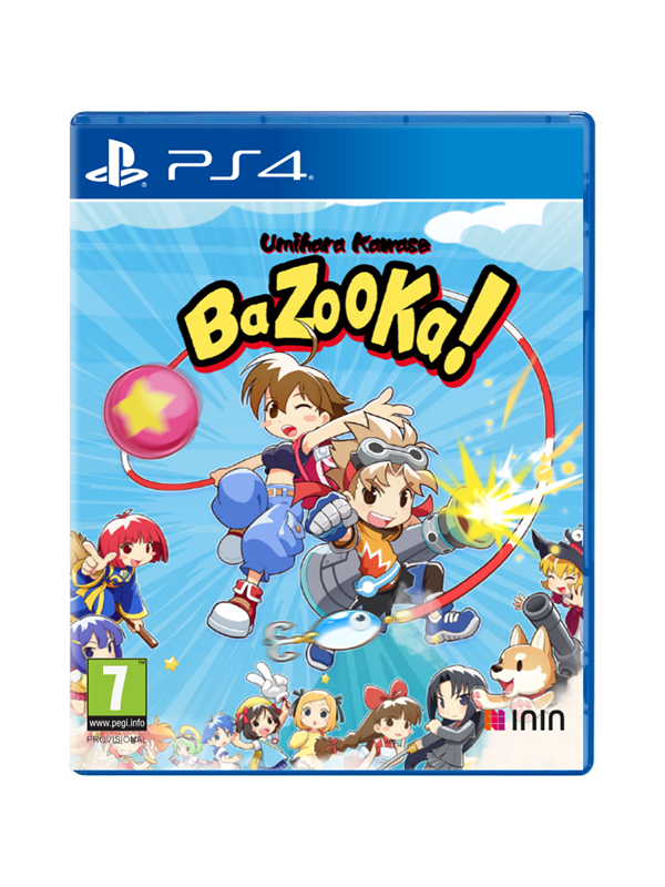 Umihara Kawase BaZooKa - Sony PlayStation 4 - Action - PEGI 7 Produktbild