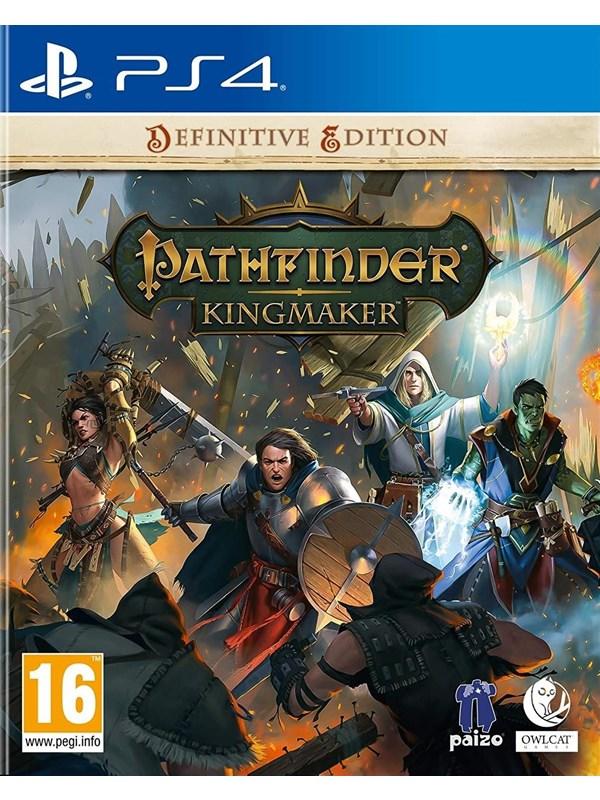 Pathfinder: Kingmaker - Definitive Edition - Sony PlayStation 4 - RPG - PEGI 16 Produktbild