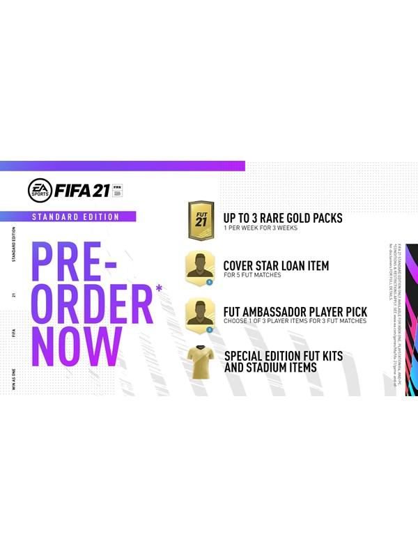 Fifa 21 - Inkl. PS5 Version - Sony PlayStation 4 - Sport - PEGI 3 Produktbild