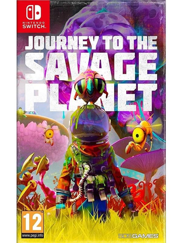 Journey To The Savage Planet - Nintendo Switch - Action/Abenteuer - PEGI 12 Produktbild