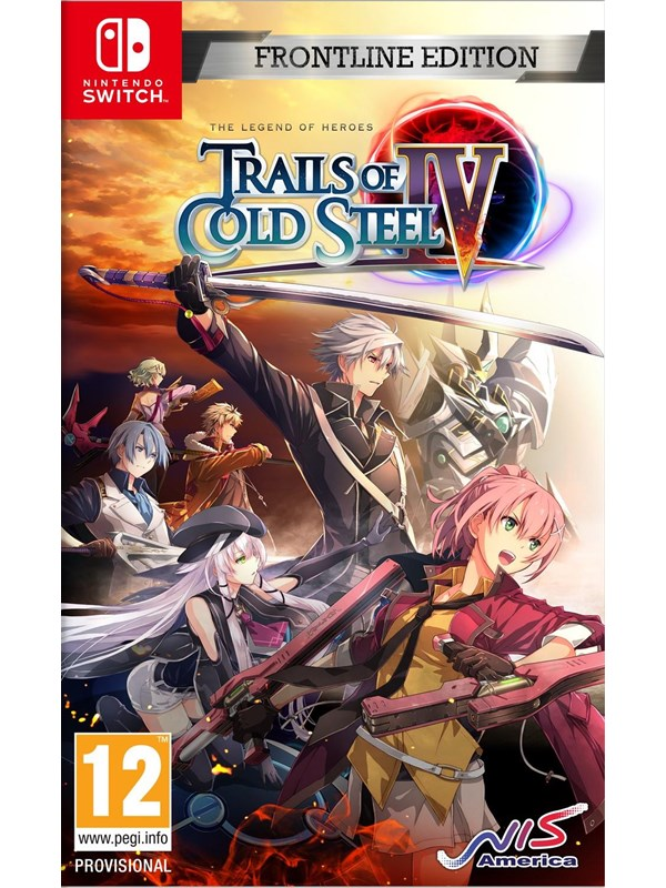 The Legend of Heroes: Trails of Cold Steel IV - Frontline Edition - Nintendo Switch - RPG - PEGI 12 Produktbild