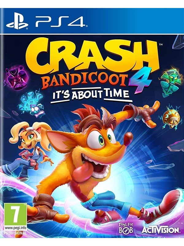 Crash Bandicoot 4: It's About Time - Sony PlayStation 4 - Platformer - PEGI 7 Produktbild