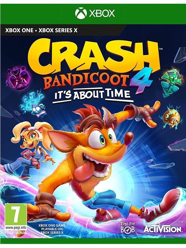 Crash Bandicoot 4: It's About Time - Microsoft Xbox One - Platformer - PEGI 7 Produktbild