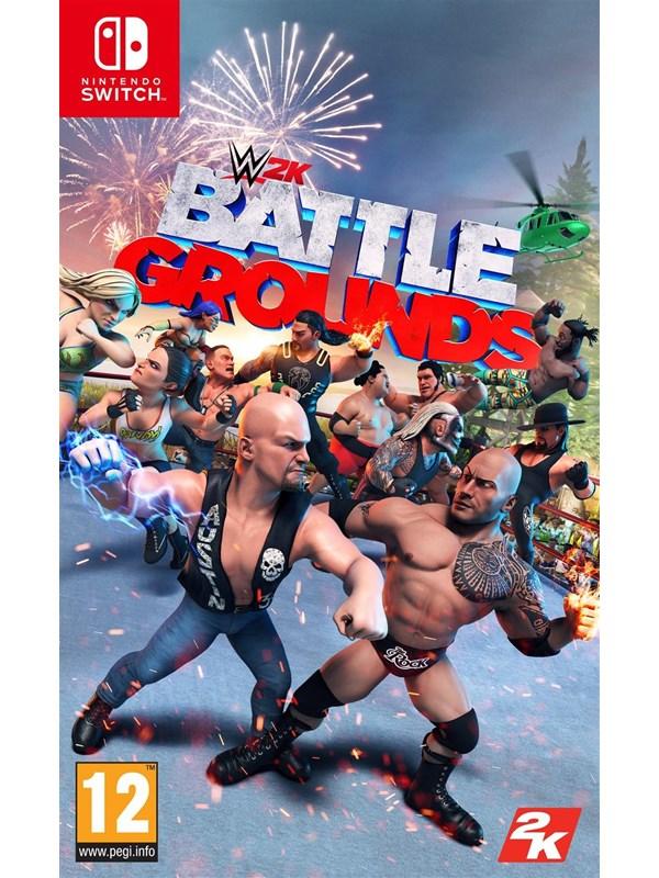 WWE 2K Battlegrounds - Nintendo Switch - Fighting - PEGI 12 Produktbild