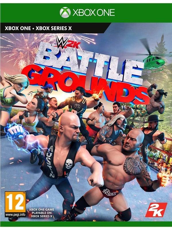 WWE 2K Battlegrounds - Microsoft Xbox One - Fighting - PEGI 12 Produktbild