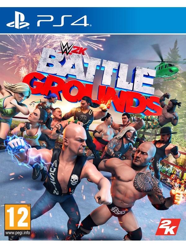 WWE 2K Battlegrounds - Sony PlayStation 4 - Fighting - PEGI 12 Produktbild