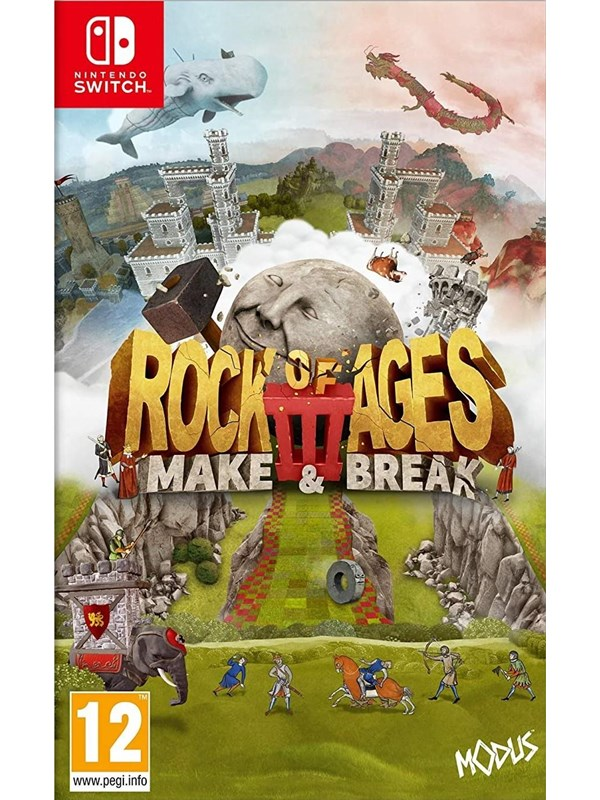 Rock of Ages 3: Make & Break - Nintendo Switch - Action - PEGI 12 Produktbild