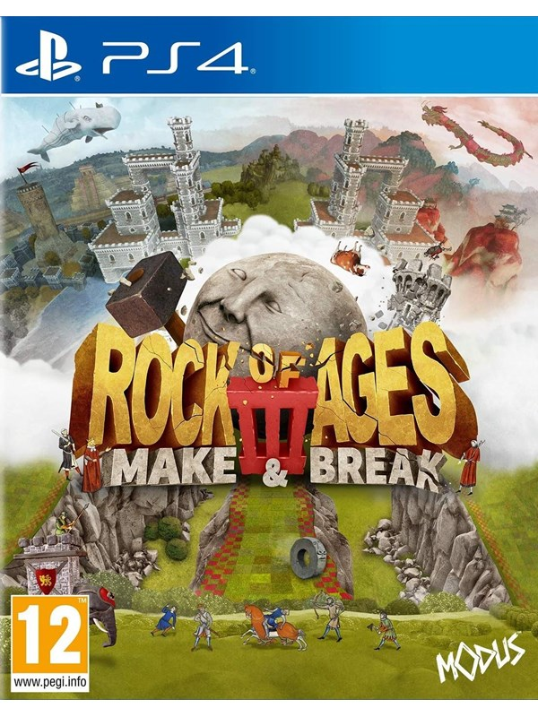 Rock of Ages 3: Make & Break - Sony PlayStation 4 - Action - PEGI 12 Produktbild