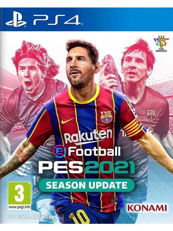 eFootball PES 2021 Season Update - Sony PlayStation 4 - Sport - PEGI 3 Produktbild