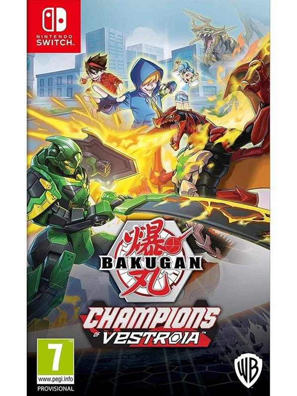 Bakugan: Champions Of Vestroia - Nintendo Switch - Action - PEGI 7 Produktbild