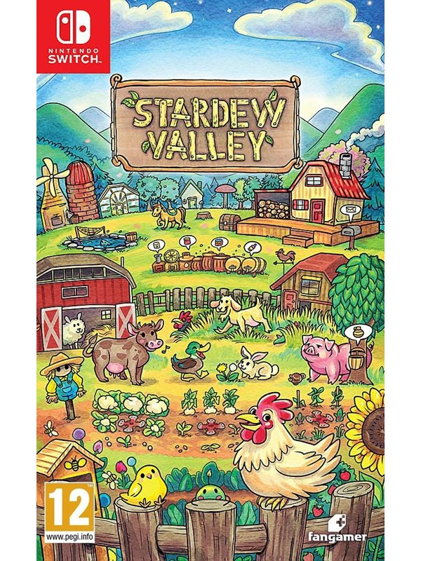 Stardew Valley - Nintendo Switch - RPG - PEGI 12 Produktbild