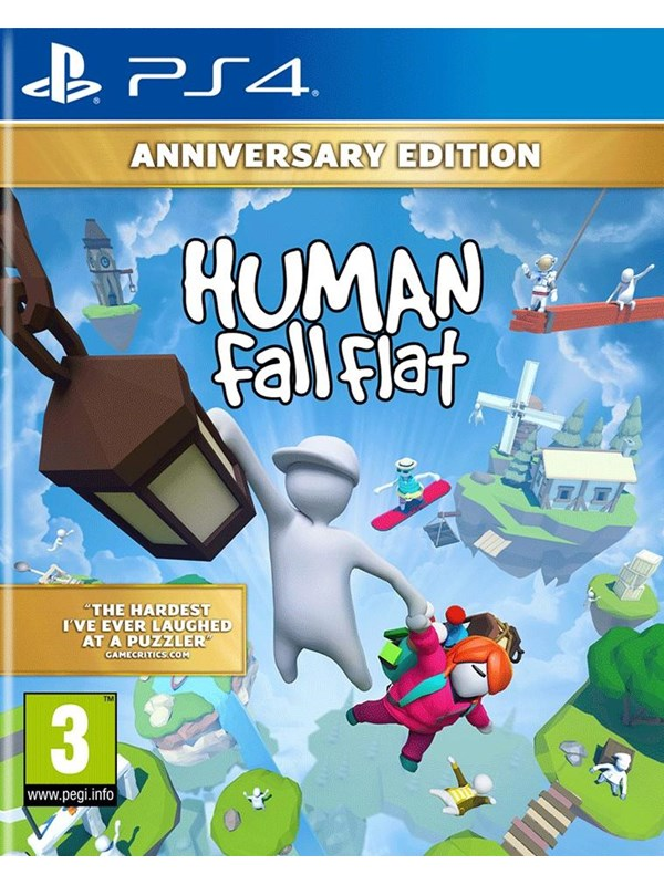 Human: Fall Flat - Anniversary Edition - Sony PlayStation 4 - Puzzle - PEGI 3 Produktbild
