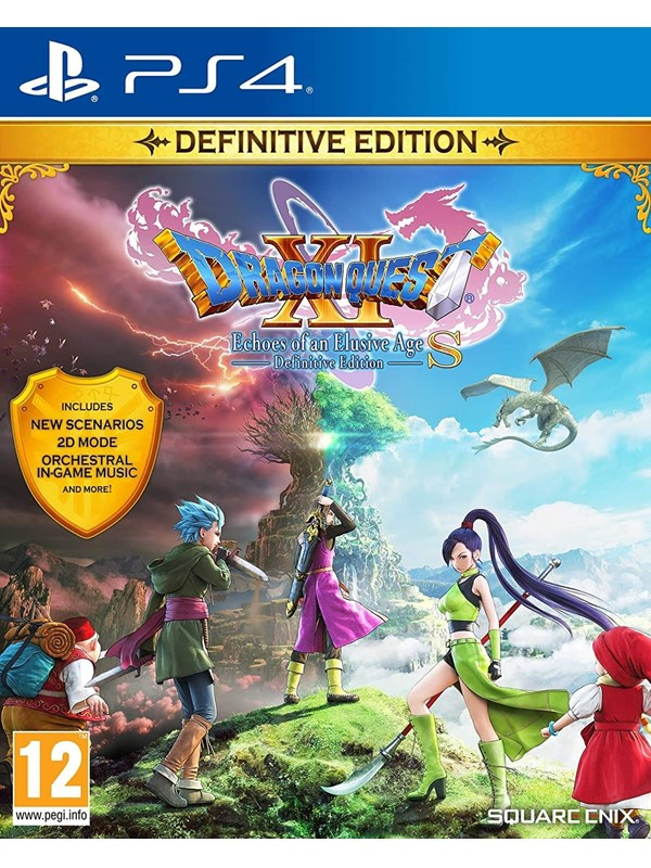 Dragon Quest XI S: Echoes of an Elusive Age – Definitive Edition - Sony PlayStation 4 - RPG - PEGI 1 Produktbild