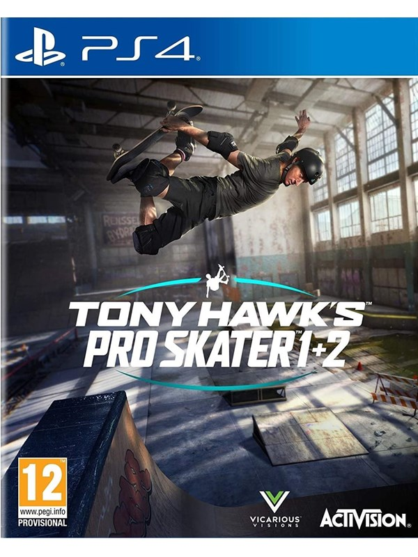Tony Hawk's Pro Skater 1 + 2 - Sony PlayStation 4 - Sport - PEGI 12 Produktbild