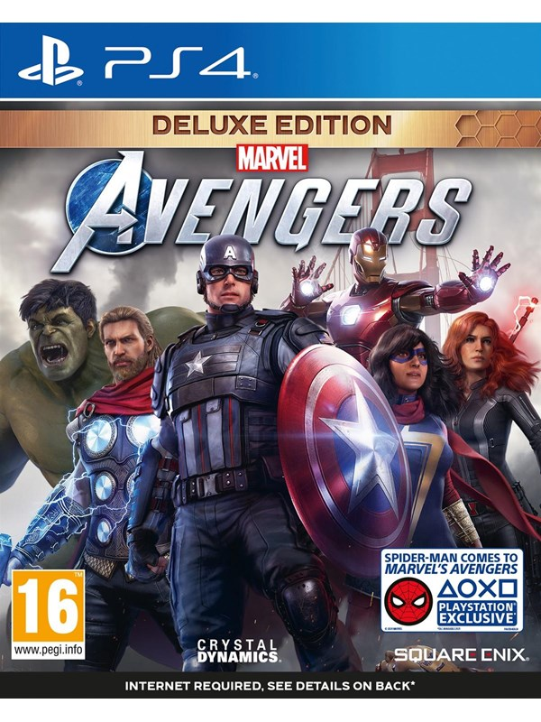 Marvel's Avengers - Deluxe Edition - Sony PlayStation 4 - Action/Abenteuer - PEGI 16 Produktbild