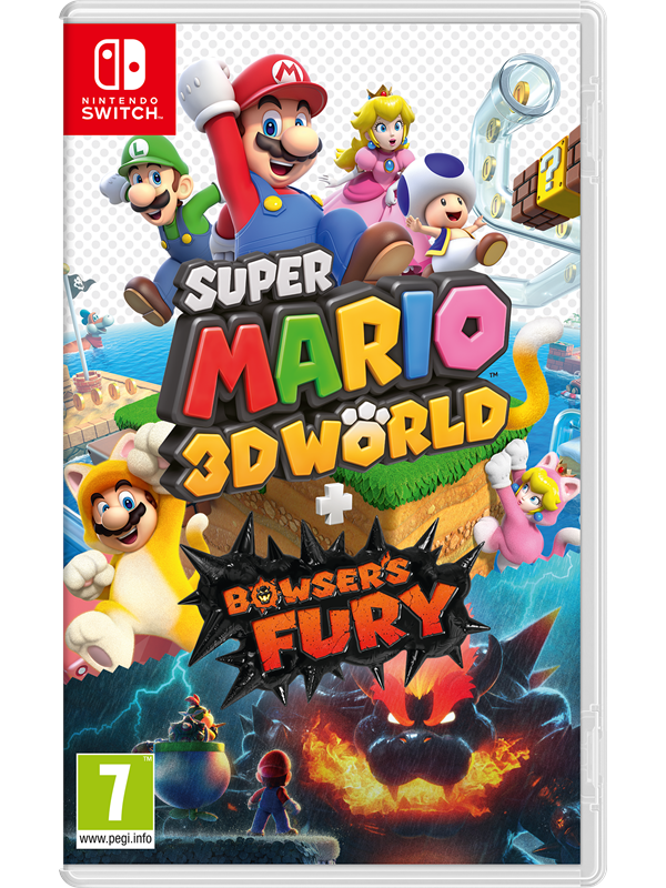 Super Mario 3D World + Bowser's Fury - Nintendo Switch - Platformer - PEGI 3 Produktbild