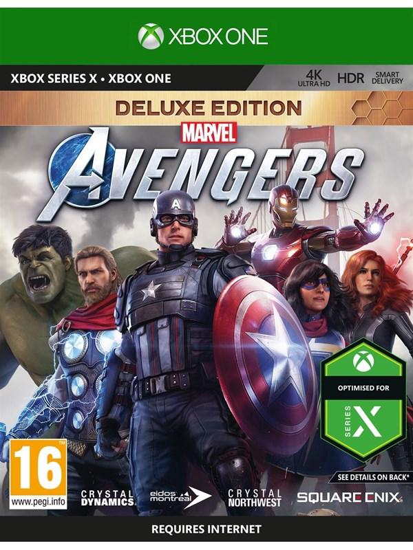 Marvel's Avengers - Deluxe Edition - Microsoft Xbox One - Action/Abenteuer - PEGI 16 Produktbild