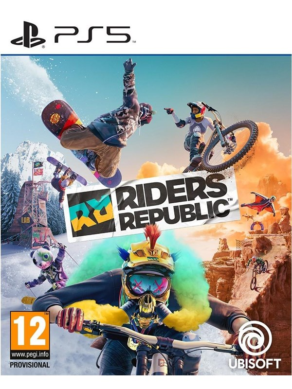 Riders Republic - Sony PlayStation 5 - Sport - PEGI 12 Produktbild