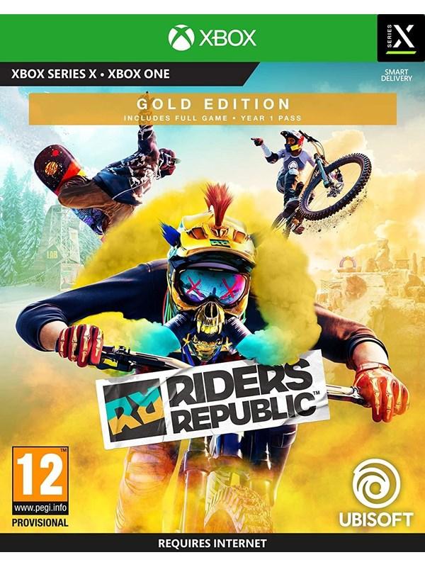 Riders Republic - Gold Edition - Microsoft Xbox One - Sport - PEGI 12 Produktbild