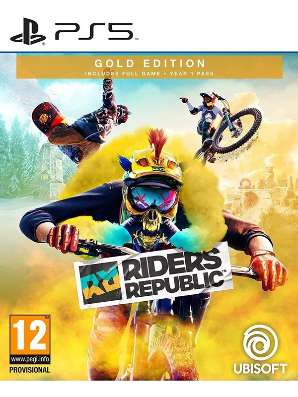 Riders Republic - Gold Edition - Sony PlayStation 5 - Sport - PEGI 12 Produktbild