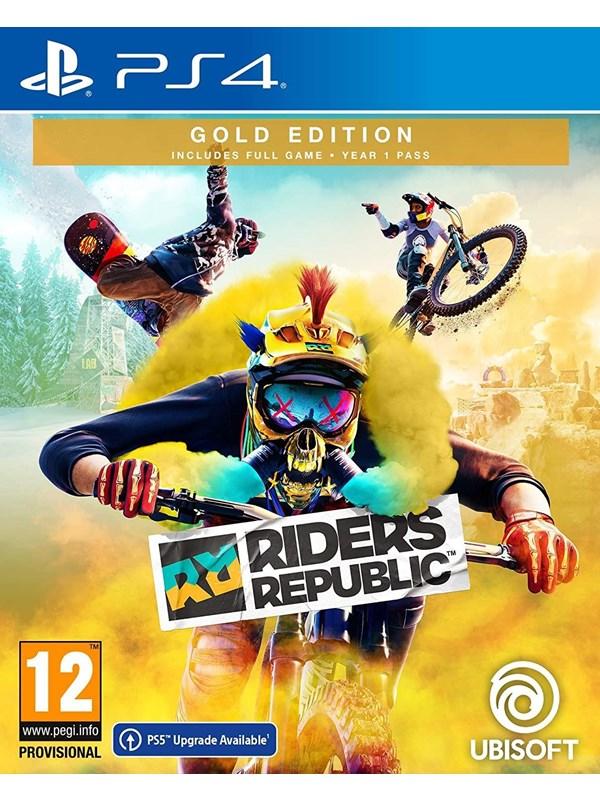 Riders Republic - Gold Edition - Sony PlayStation 4 - Sport - PEGI 12 Produktbild
