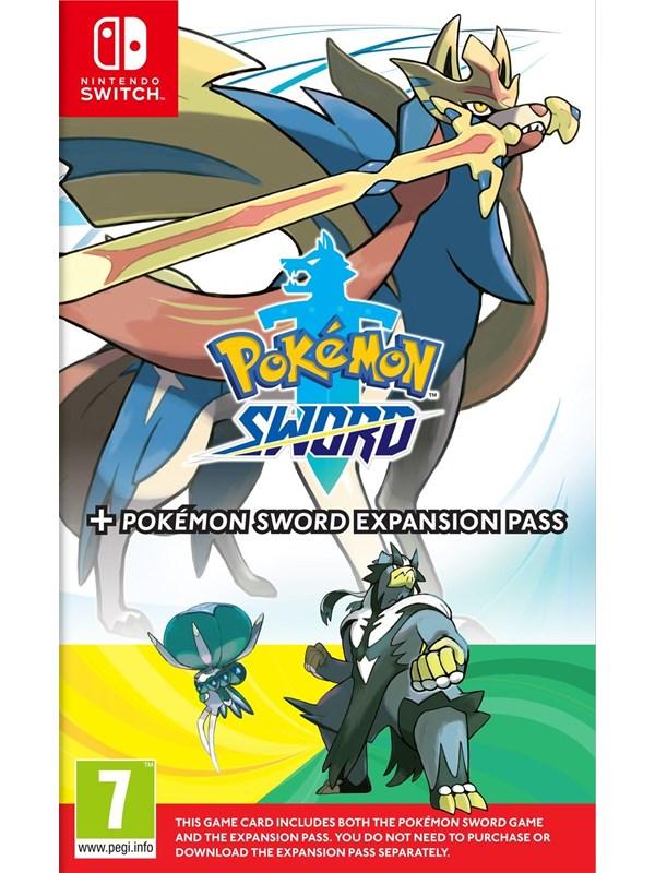 Pokémon Sword + Pokémon Sword Expansion Pass - Nintendo Switch - RPG - PEGI 7 Produktbild