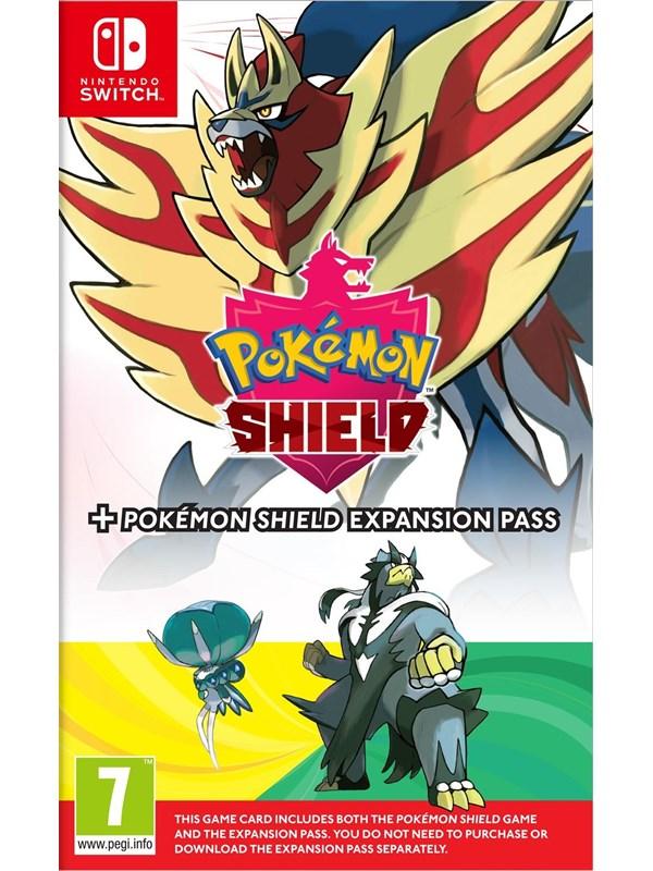Pokémon Shield + Pokémon Shield Expansion Pass - Nintendo Switch - RPG - PEGI 7 Produktbild